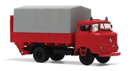 """LKW W50L """"LB Feuerwehr"""" mit Ladebordwand"""