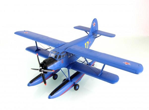 HO/1:87: Resinmodell einer Antonov AN-2, Kleinserien-Fertigmodell als Wasserflugzeug