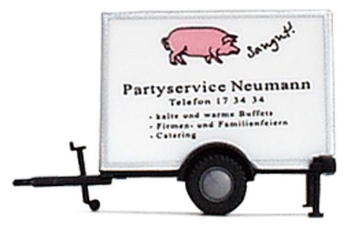 "Kühlkofferanhänger ""Partyservice Neumann"""