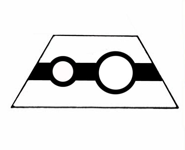 S515A Gleissymbol für Anzeige und Taster (Zieltaster)