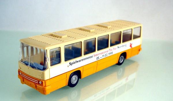 """H0: FG000023 Ikarus 260 Werbemodell """"Spielwarenmesse 1998 / 20 Jahre s.e.s"""""""