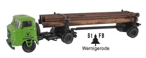 """LKW W50 Langholztransporter """"St FB Wernigerode"""""""