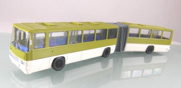 """Ikarus 280 Gelenkbus """"Schlenki"""" 2-farbig, grün / hellbeige"""