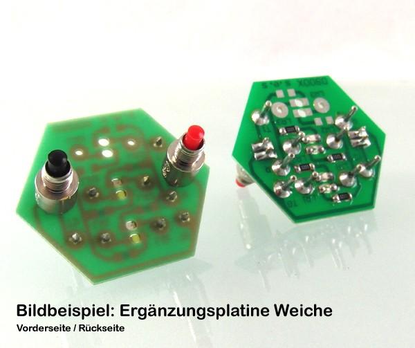 RW903D Ergänzungsplatine: Einfache Gleisverbindung links