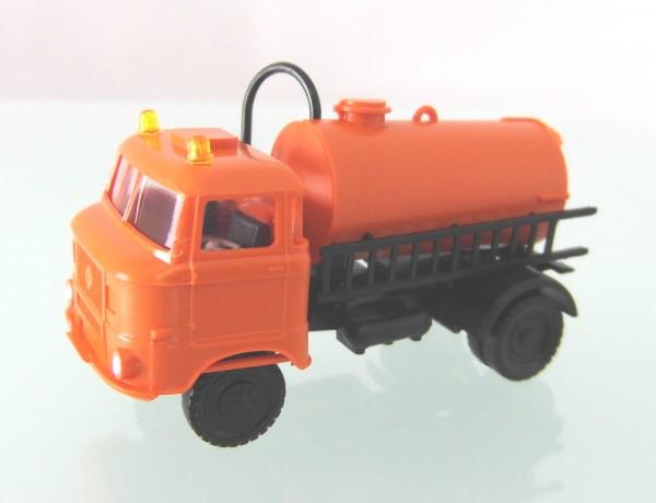 """LKW W50L """"Fäkalienfahrzeug"""" mit Rundumleuchten, Orange"""