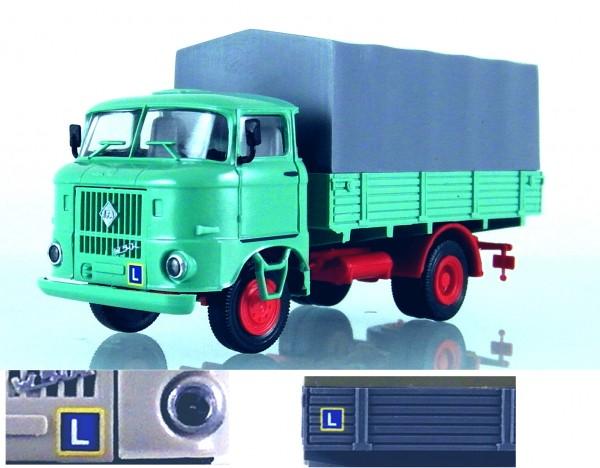 "LKW W50L Fahrschulwagen ""Zivil"", Blassgrün"