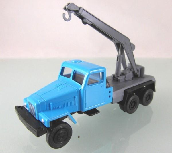 LKW IFA G5 Kranwagen neutral blau / grau