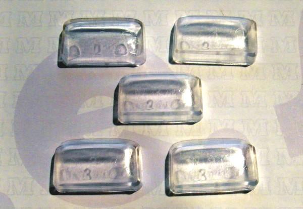 5 Stück Glaseinsatz/ Fenster für Fahrerkabine von LKW W50L Normalkabine