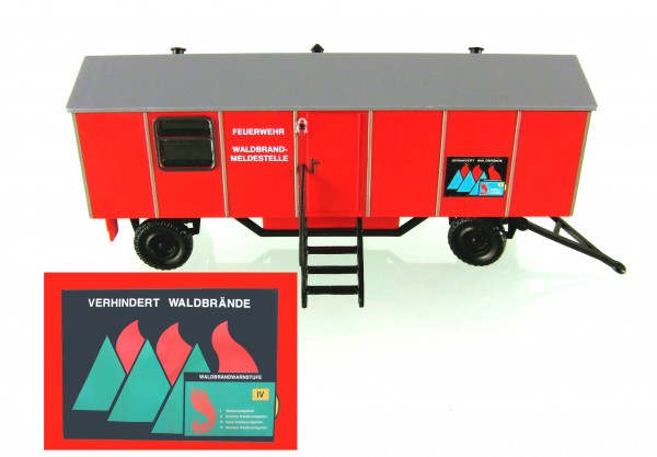 """Bauwagen Typ A8 """"Waldbrand-Meldestelle""""-LOW PRICE-Copy"""