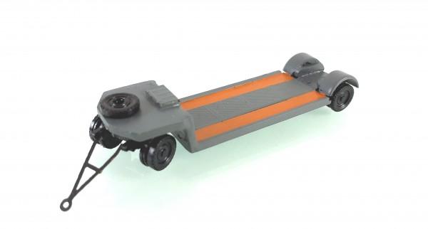 TT: 24200060 Tieflade- Schwerlastanhänger TL12 in postgrau Kleinserienmodell