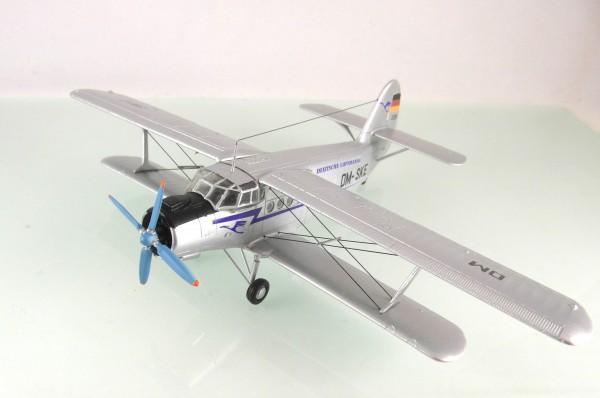 """HO/1:87: Resinmodell einer Antonov AN-2, Kleinserien-Fertigmodell in TOP Quali.""""Deutsche Lufthansa""""-"""