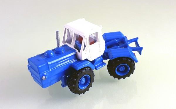 TT: Traktor T-150K -Kleinserienmodell- blau / weiß