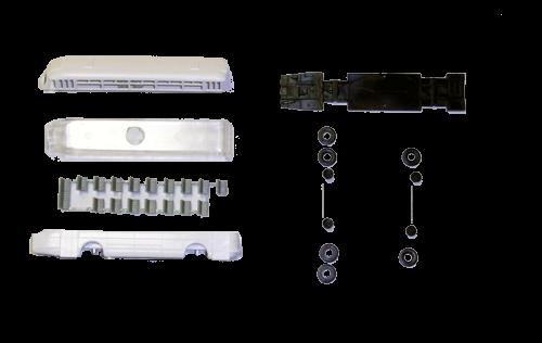 Bausatz Ikarus 66, Weiß