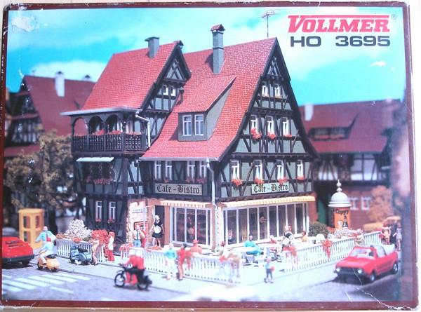 HO: FG000702 Vollmer 3695 Café-Bistro (Romantik Modell)