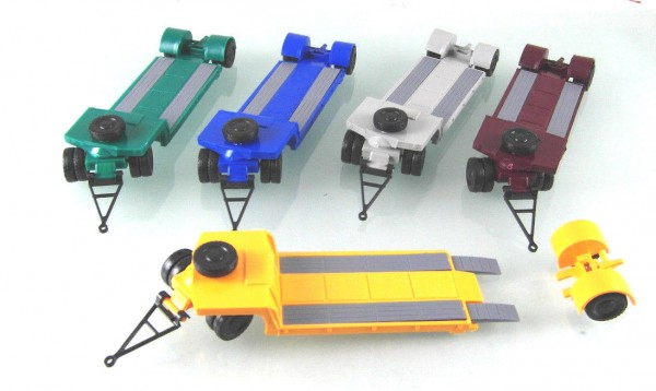 5 Stück verschiedene Tiefladeanhänger Typ TL12 -LOW PRICE--