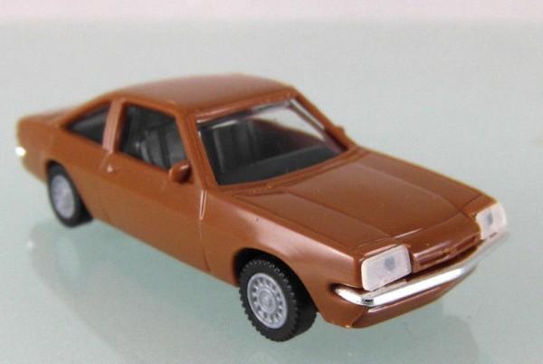 Opel Manta B in dunkelbraun. Restposten